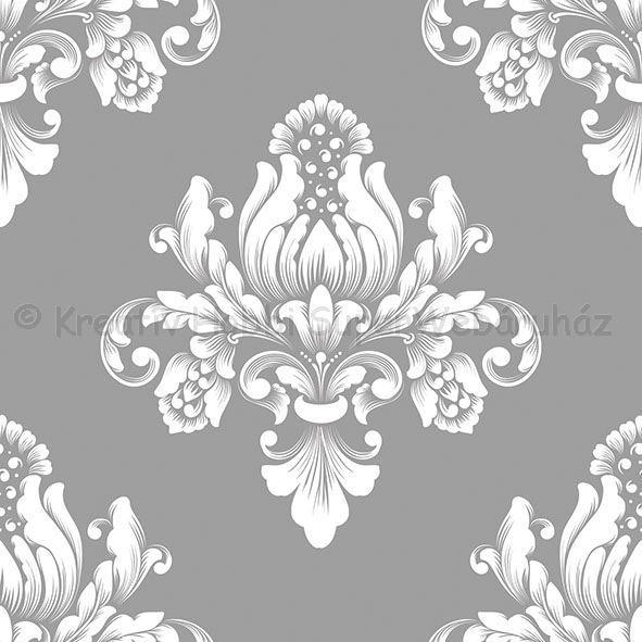 Szalvéta - barokk minta, ezüst - Barok Silver
