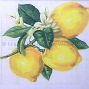Szalvéta - citromok