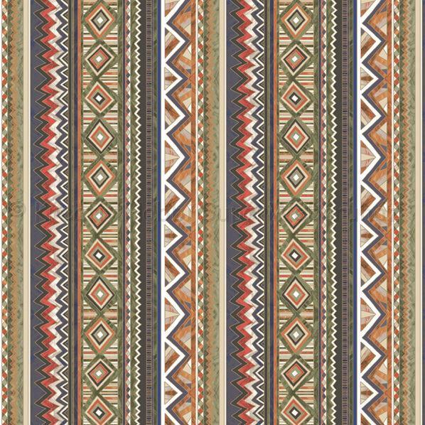 Szalvéta - csíkok, grafikai minták - Ethnic Graphics in Stripes