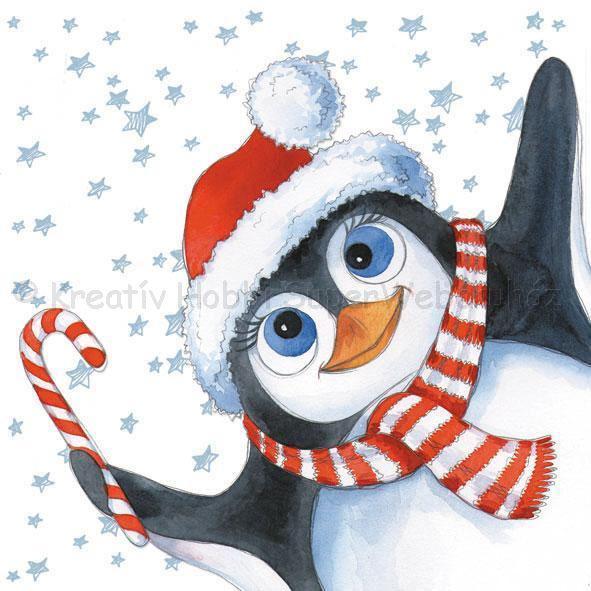 Szalvéta - Eddy a pingvin - Eddy The Penguin