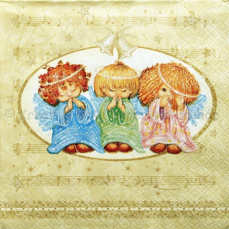 Szalvéta - éneklő angyalok