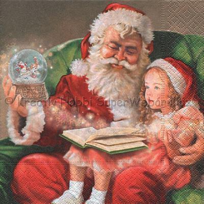 Szalvéta - karácsonyi mese