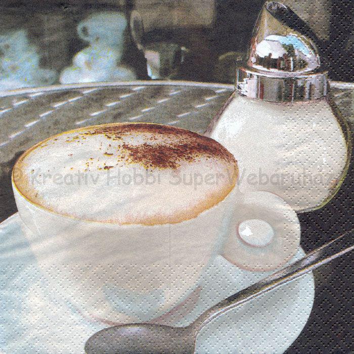 Szalvéta - kávé 4