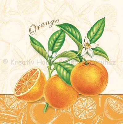 Szalvéta - narancs