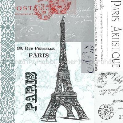 Szalvéta - Párizs,  Eiffel torony