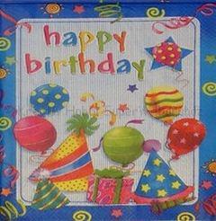Szalvéta - parti, boldog születés napot 1
