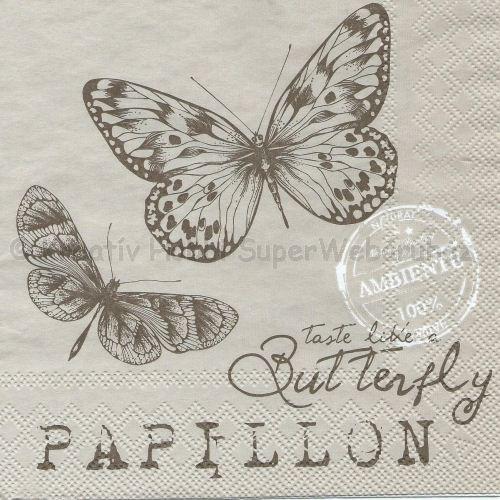 Szalvéta - pillangók