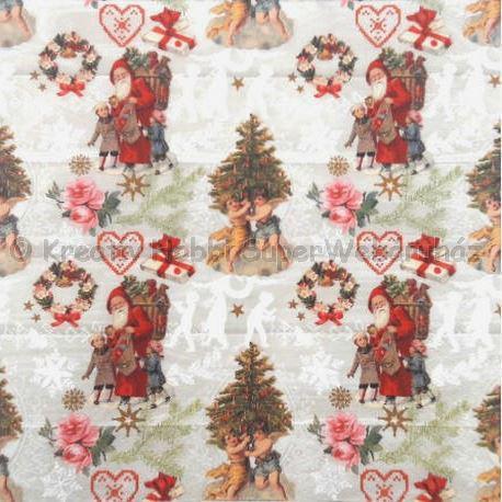 Szalvéta - régi karácsonyi képek