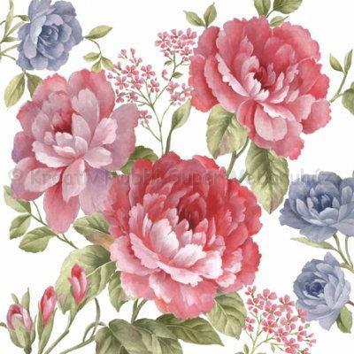 Szalvéta - rózsa - Julietta