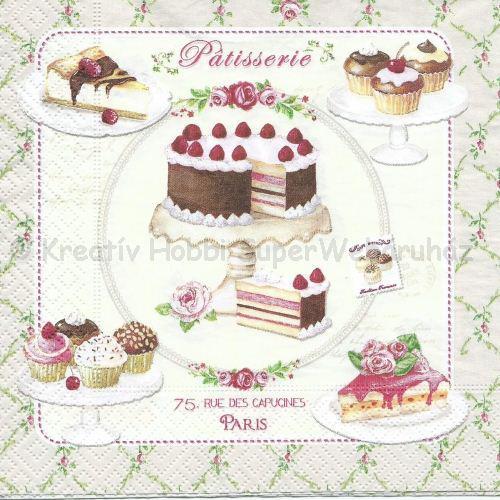 Szalvéta - torta