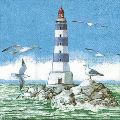 Szalvéta - világítótorony a tengeren - Marine Lighthouse