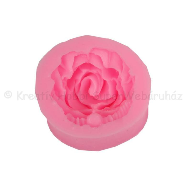 Szilikon öntőforma - 1 rózsa
