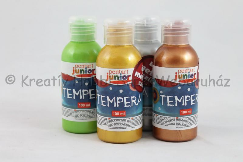 Tempera metál 100 ml JUNIOR