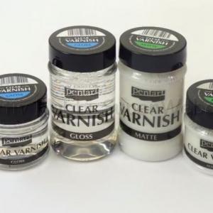 Oldószeres SZÍNTELEN fényes lakk 50 ml