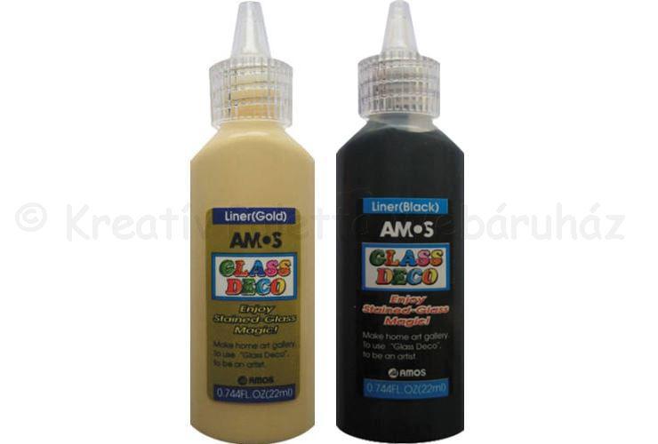 Üvegmatrica festék kontúr 22 ml