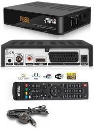 AMIKO Impulse HD CX Digitális Kábel TV vevő és MindigTv T2 vevő H265