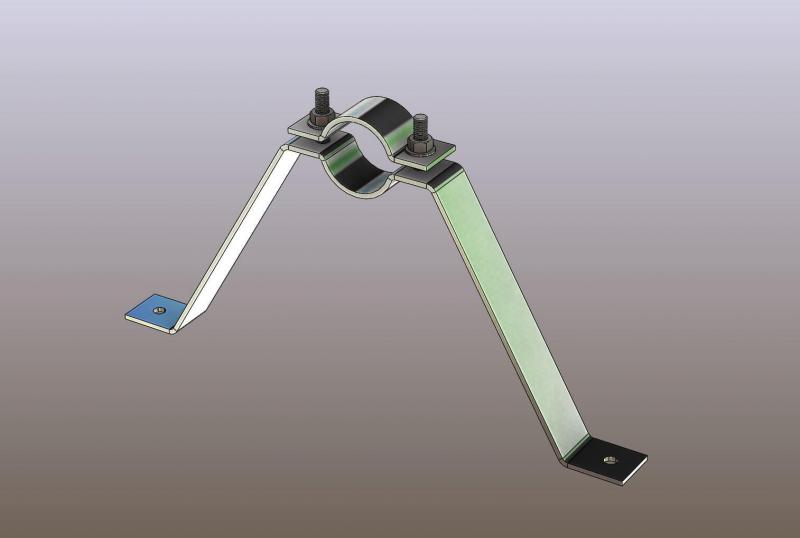 Antenna-árboc trapéz konzol 20cm