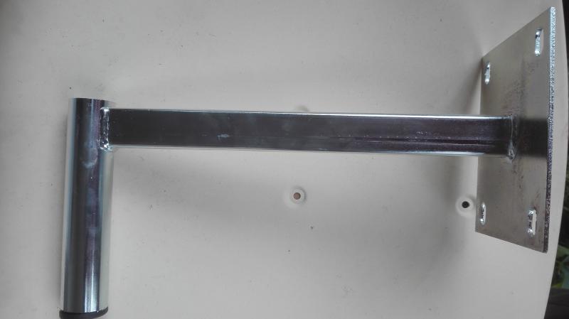 Antenna falitartó konzol 30cm festett