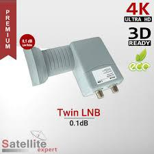 BIG SAT műholdvevő fej Twin (LNB) uni