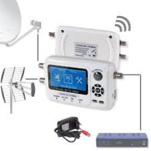 Digitális Sat és DVB-T finder Combo antenna beállító műszer