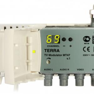 RF Modulátor VHF/UHF MT47 Terra