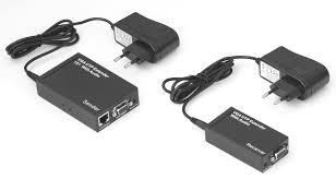 HDMI hosszabbító UTP kábelen(50m-ig)