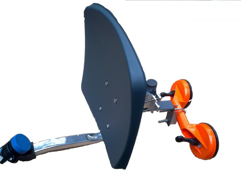 Kamion antenna 45cm dupla tapadó korongos szett