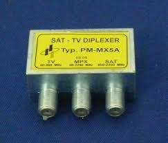 PM-MX5A SAT-TV diplexer