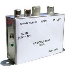 RF Modulátor UHF (Metalmax)+15v táp