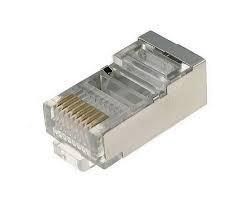 RJ45 UTP LAN kábel csatlakozó 8P8C árnyékolt