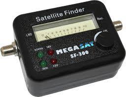 SATFINDER antenna beállító műszer