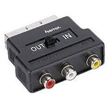 SCART-3 RCA adapter