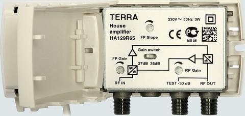 TERRA HA 129R65 Aktív TILT 36dB  Szélessávú szab.antennaerősítő