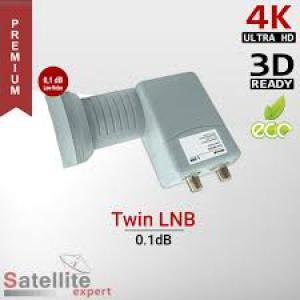 Amiko műholdvevő fej Twin (LNB) uni