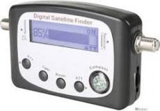SatFinder digitális kijelző antenna beállító műszer
