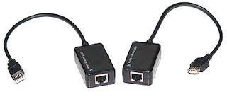 USB extender-UTP kábelen 100m-ig