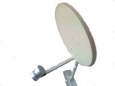 Wifi antenna 80cm Parabola+2,4GHz fejjel(25dBi)