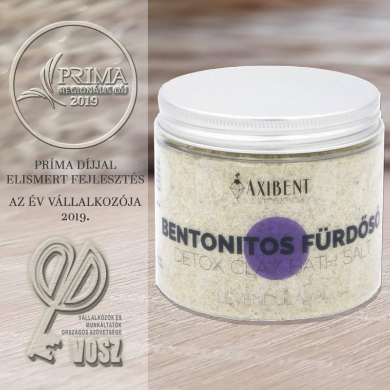 AXIBENT BENTONITOS FÜRDŐSÓ LEVENDULÁVAL 200 g