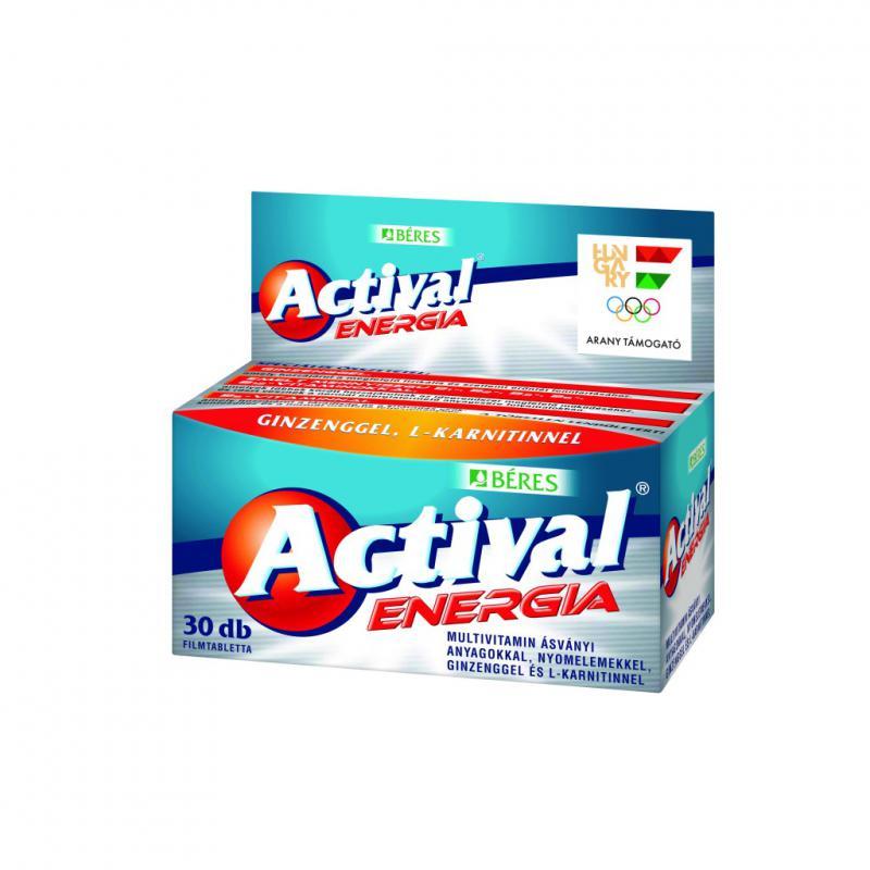 Béres Actival energia tabletta 90 szem