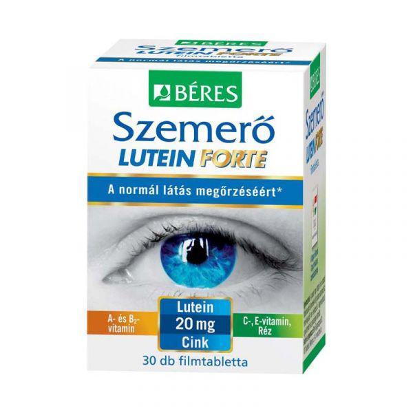 Béres Egészségtár Szemerő Forte Lutein tabletta 30 szem