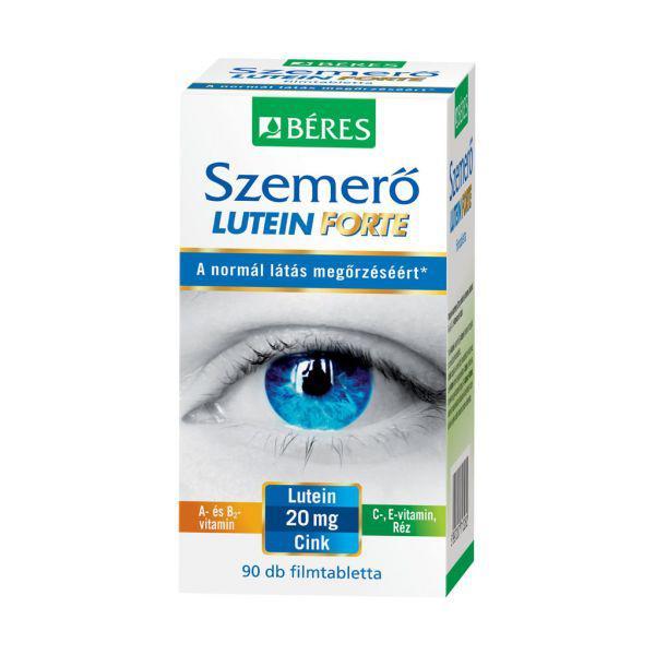 Béres Egészségtár Szemerő Forte Lutein tabletta 90 szem