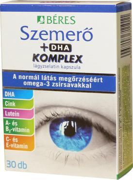 Béres szemerő +DHA komplex 30+15 kapszula 45 szem