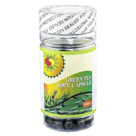 Big Star SUN MOON Zöld Tea Lágyzselatin Kapszula 100 db