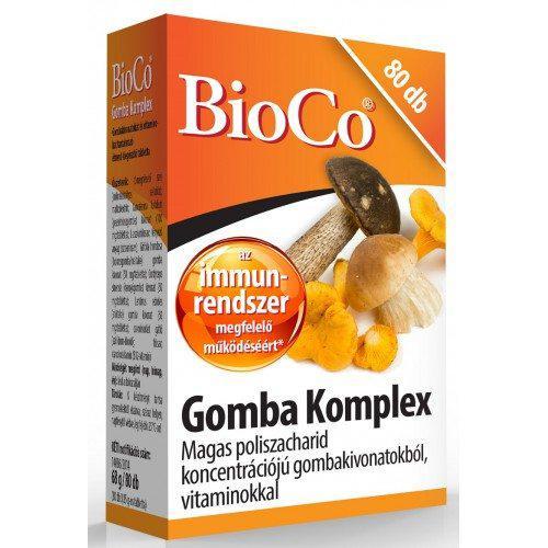 BioCo® Gomba komplex tabletta 80 szem