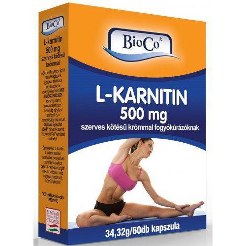 BioCo® L-Karnitin kapszula 60 db