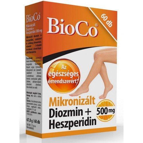 BioCo® Mikronizált Diozmin + Heszperidin filmtabletta 60 db
