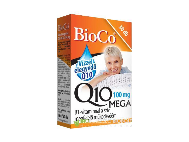 BioCo® Q10 mega 100 mg kapszula - 30 szem
