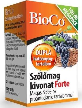 Bioco Szőlőmag Forte Megapack 100szem