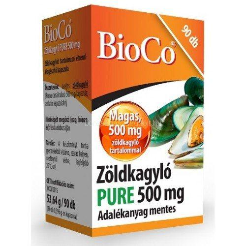 BioCo Zöldkagyló PURE 500mg 90szem