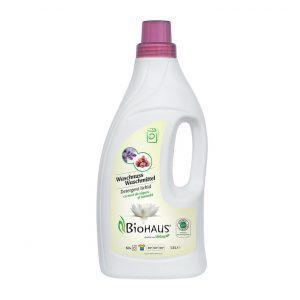 BioHAUS® folyékony mosószer mosódióval és levendulával 1500 ml